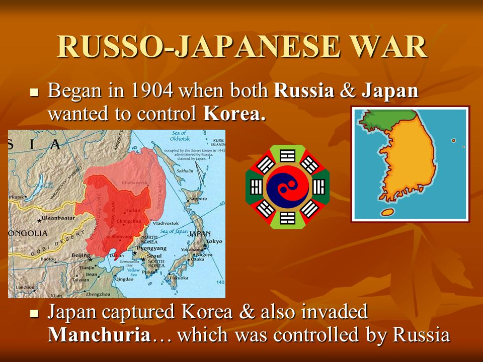 TEDDY ROOSEVELT & THE WORLD…. Roosevelt 1 st used U.S. influence to help settle the Russo-Japanese War