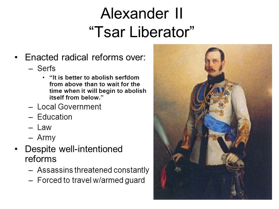 Alexander II Nicholas I (father)
