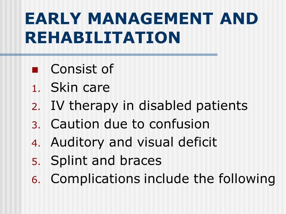 REHABILITATION OF STROKE Assessment of function Motor, postural, perceptual, cognitive, communication and autonomic Independence and self-care Walking