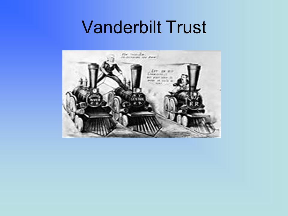 FREE ENTERPRISE The actions taken by Rockefeller and Vanderbilt violated the concept of free enterprise.