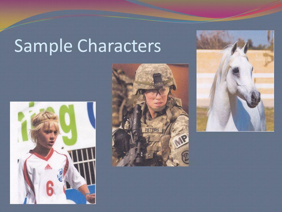 Sample Characters