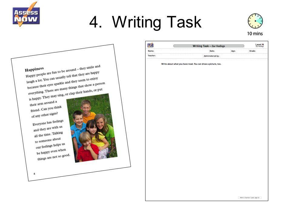 4. Writing Task