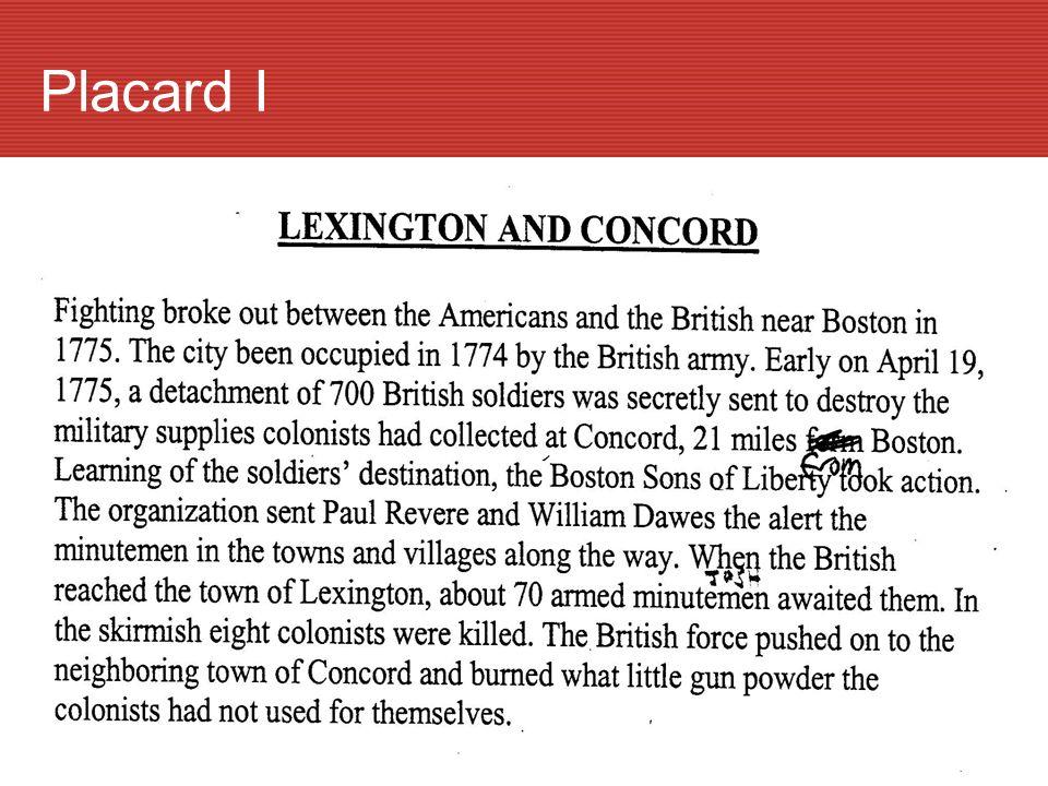 ILexington & Concord