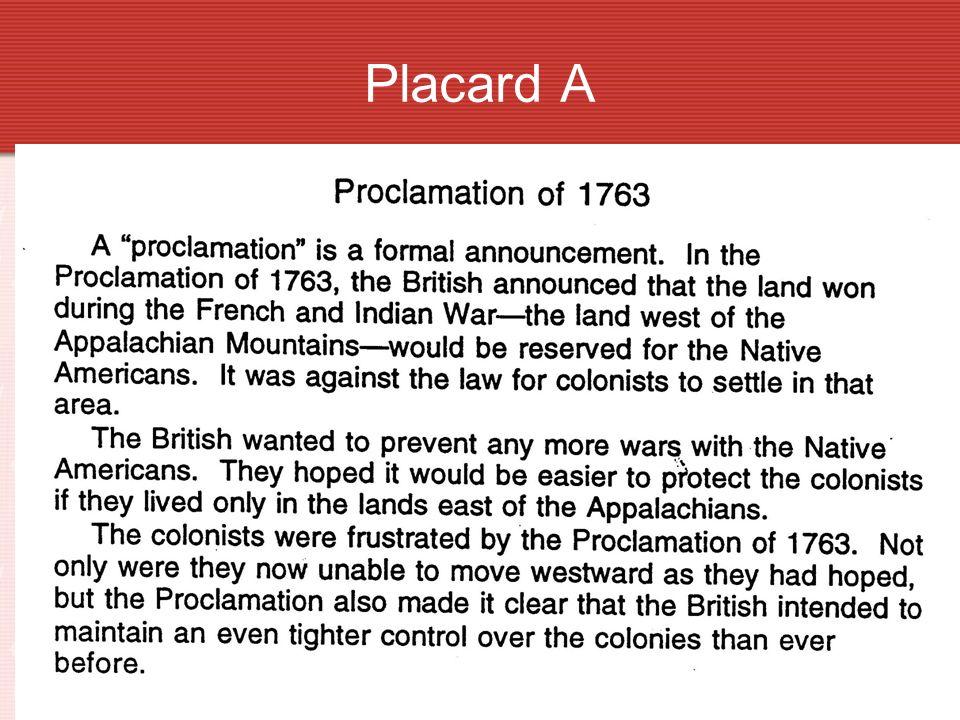 AProclamation of 1963