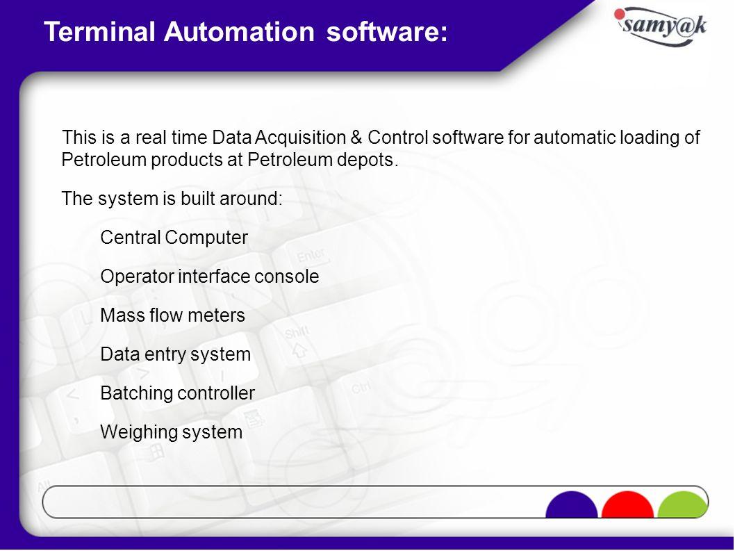 Loading Configuration Screen