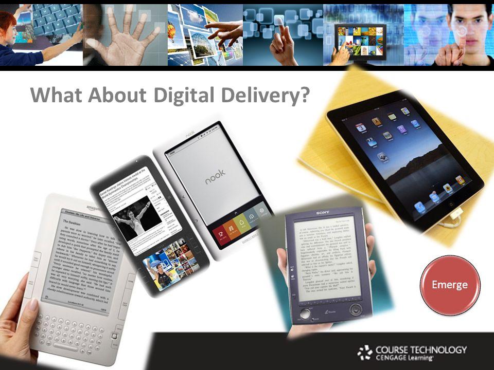 What About Digital Delivery Emerge