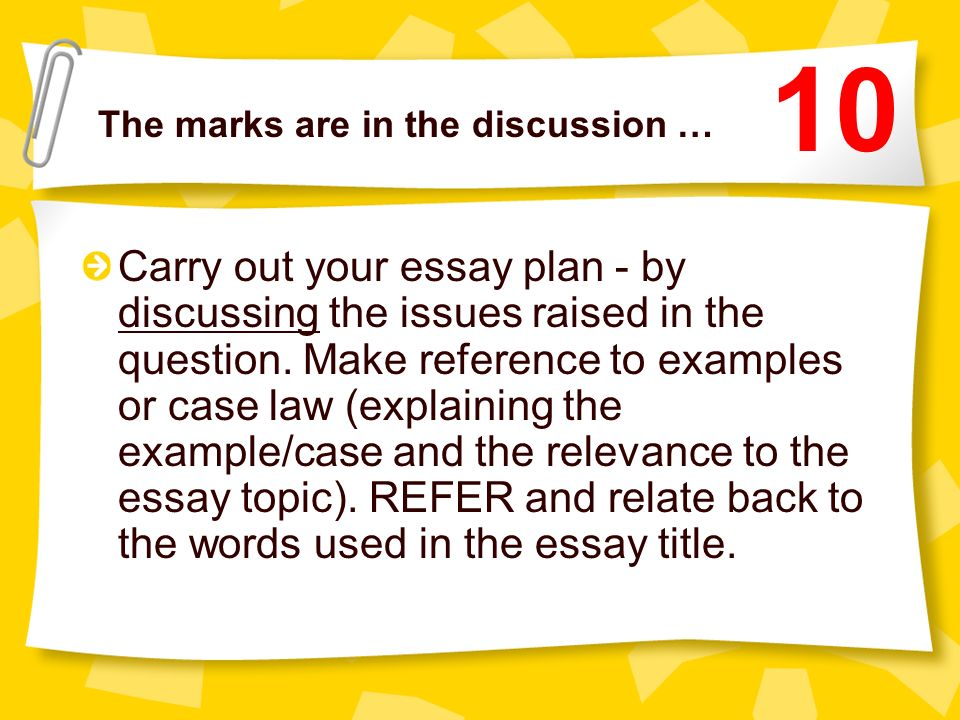 ALWAYS use sub-headings in your essay …. Sub-headings help establish structure in your essay writing. More importantly they demonstrate the same to th