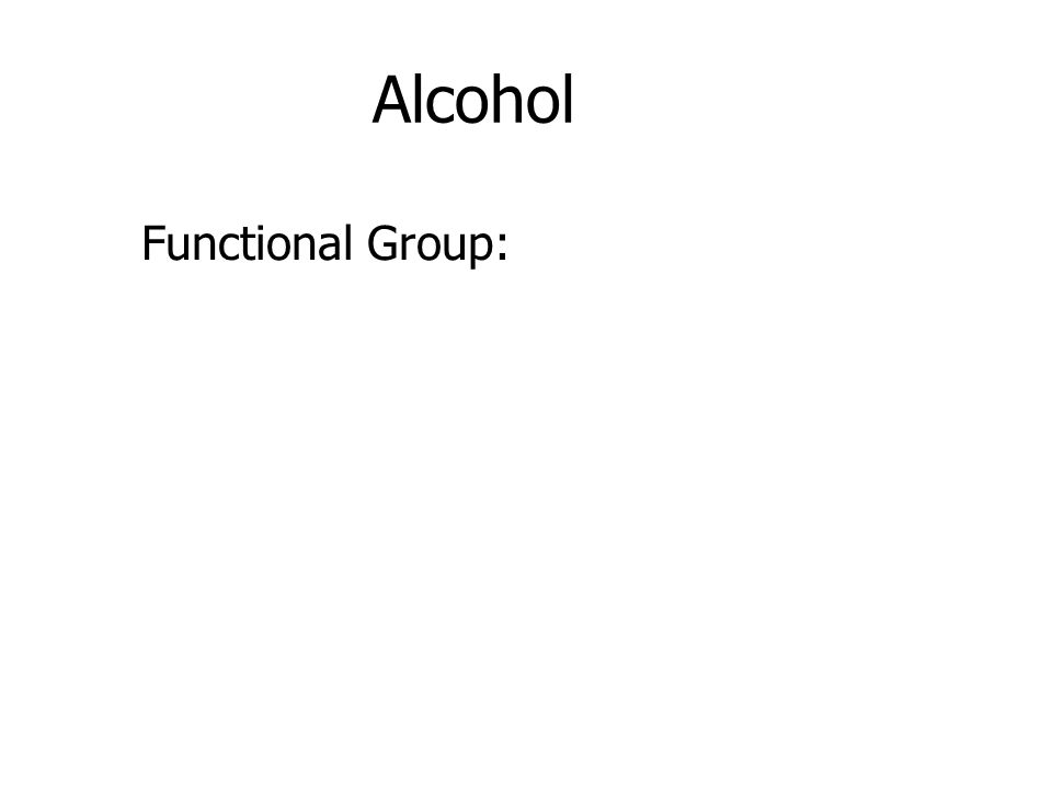 Functional Group: