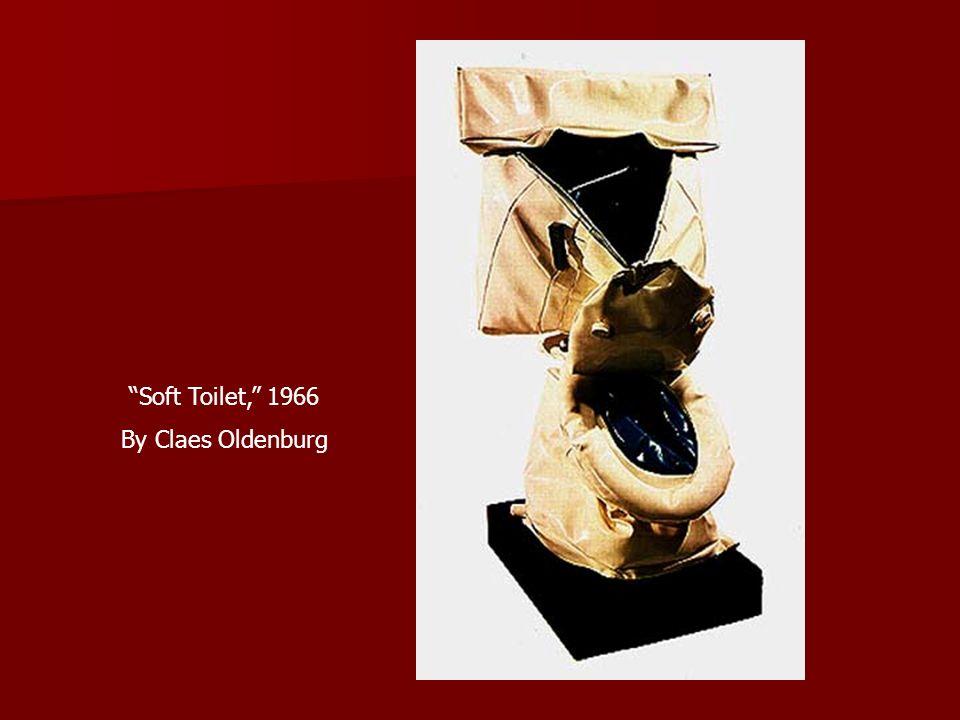 Soft Toilet, 1966 By Claes Oldenburg