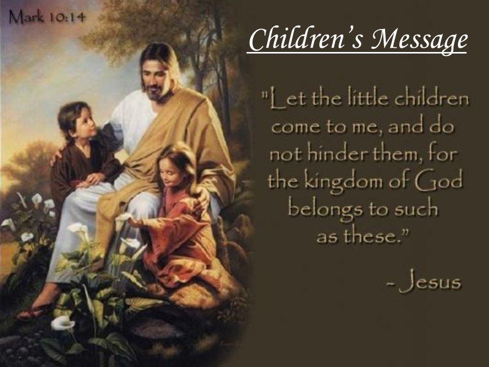 Childrens Message