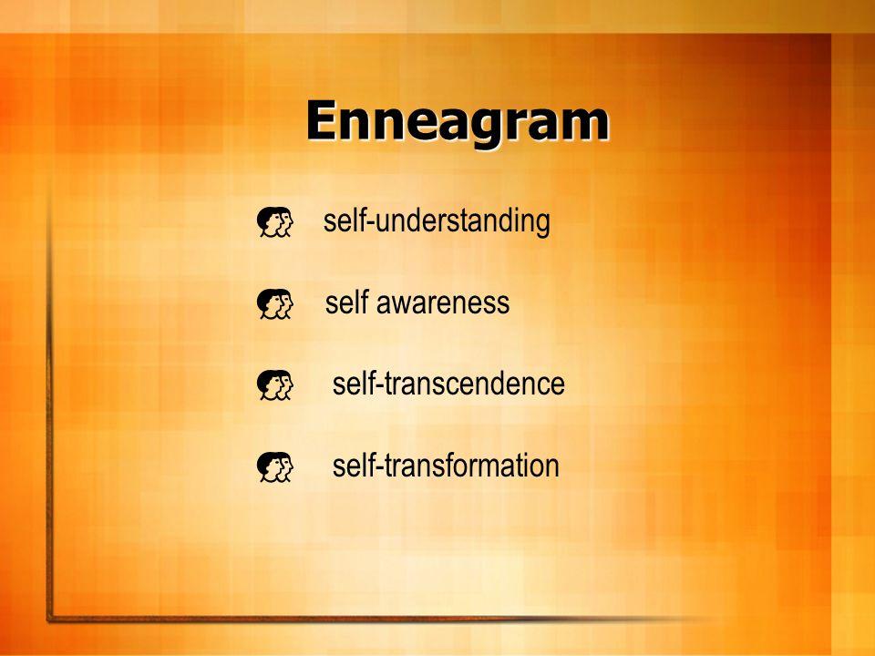 Enneagram self-understanding self awareness self-transcendence self-transformation