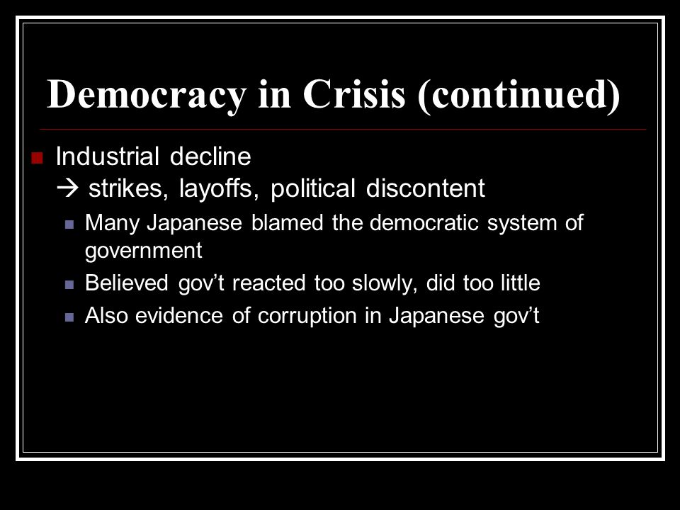 Rise of Nationalism Japanese Military V.