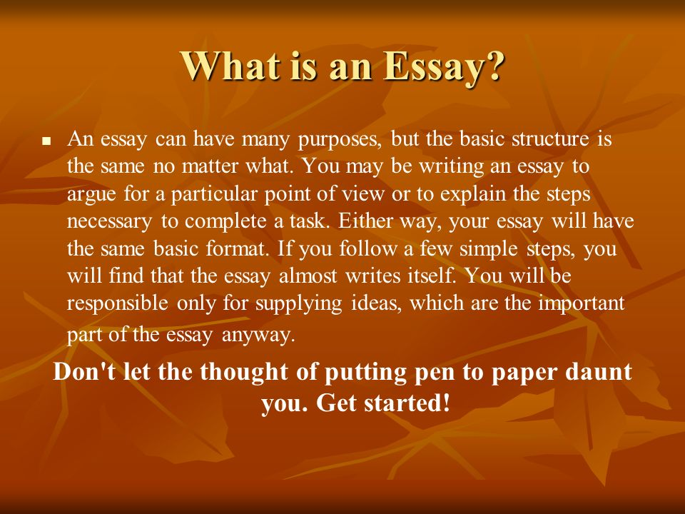 B>What is an essay? - The Open University