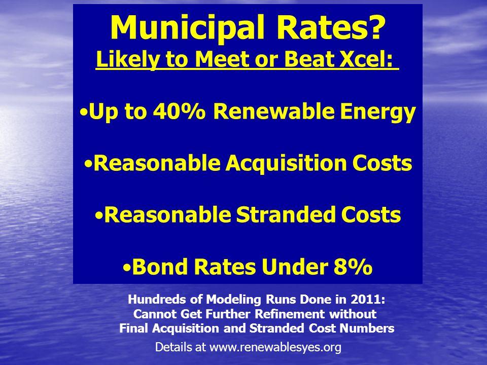 Municipal Rates.