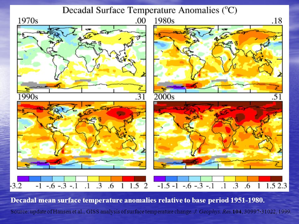 http://americasclimatechoices.org/ Chapter 6, page 174, Natl Academies of Science Report 2010 Originally from Meehl 2007Fig 10-8, IPCC Volume I (2007) www.ipcc.ch Projected Temp Changes Relative to 1961-1990