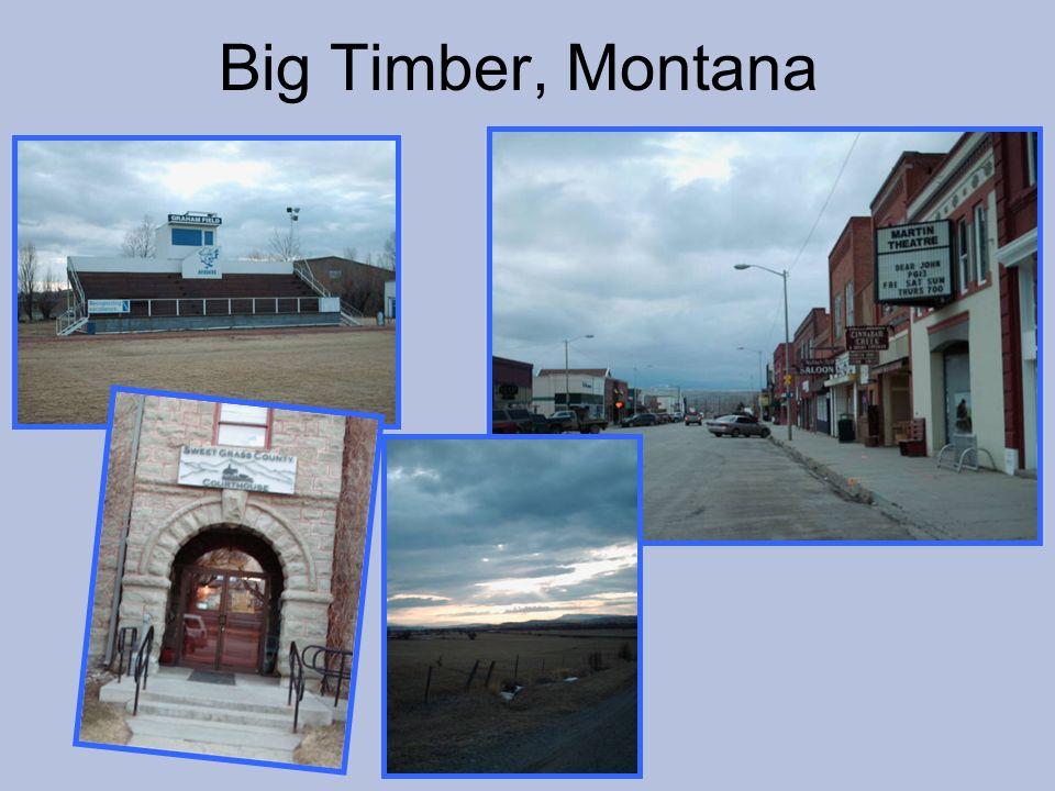 Big Timber, Montana