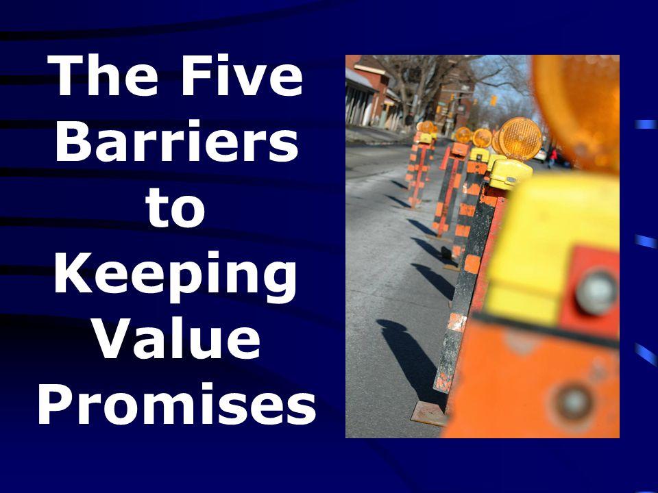 Five Barriers 1.