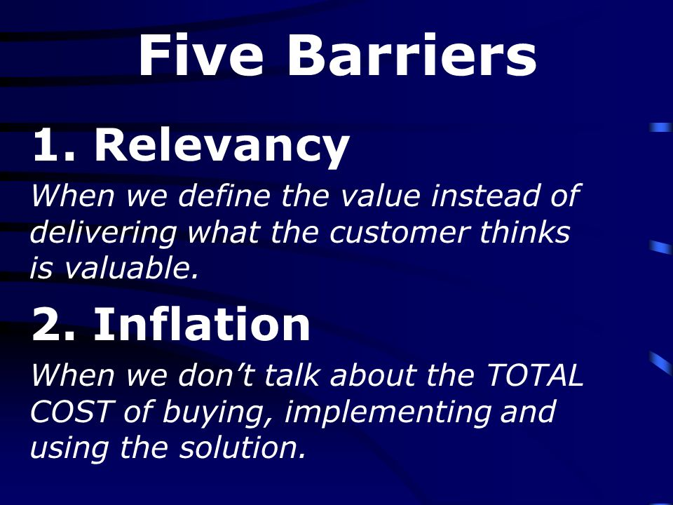 The Purpose of the Sales Call 1.Validate our discovery process – is this a valid customer.