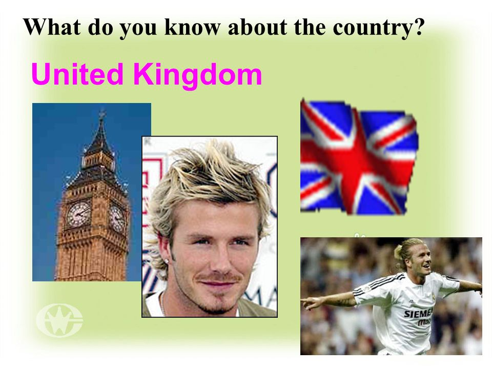 What do you know about the country? United Kingdom