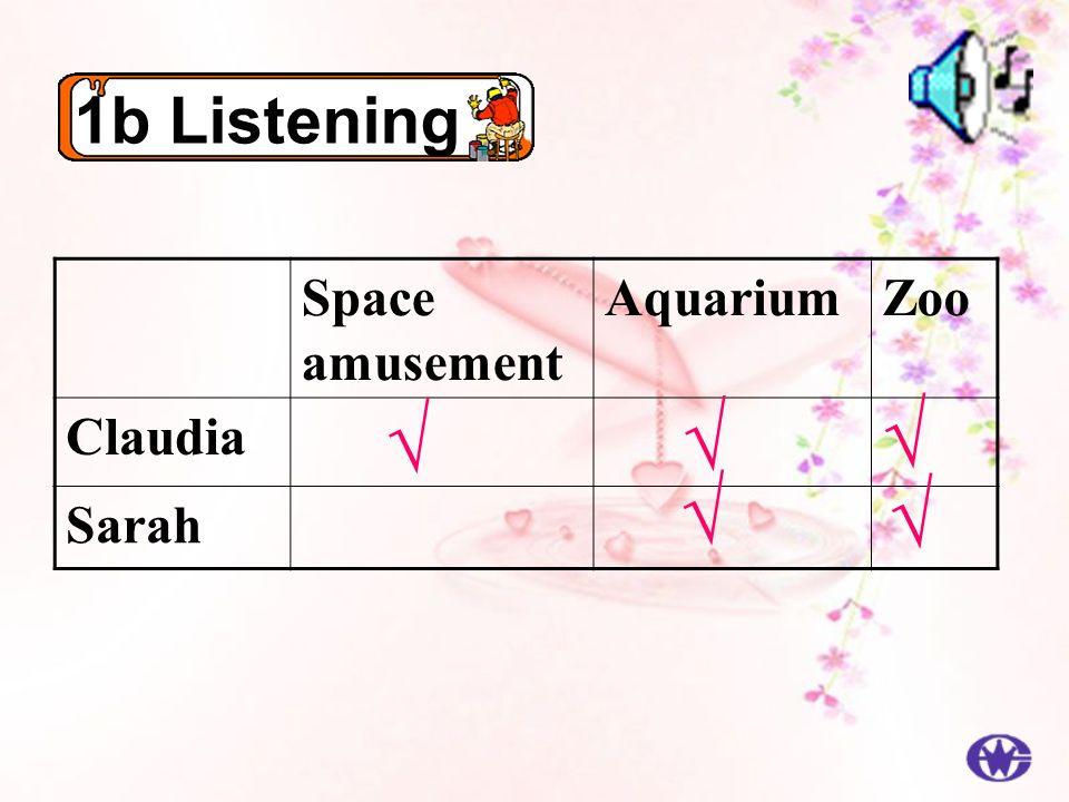 1b Listening Space amusement AquariumZoo Claudia Sarah