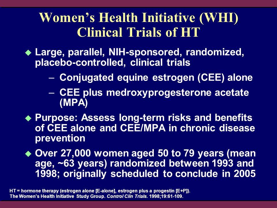 HR = 0.61 95% nCI = 0.41–0.91 95% aCI = 0.33–1.11 CEE Placebo Womens Health Initiative Steering Committee.