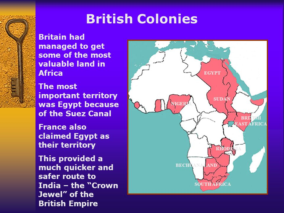 Imperialism The land grab in Africa and Asia created huge rivalries between the European powers The British feared Germany would try to take their lan