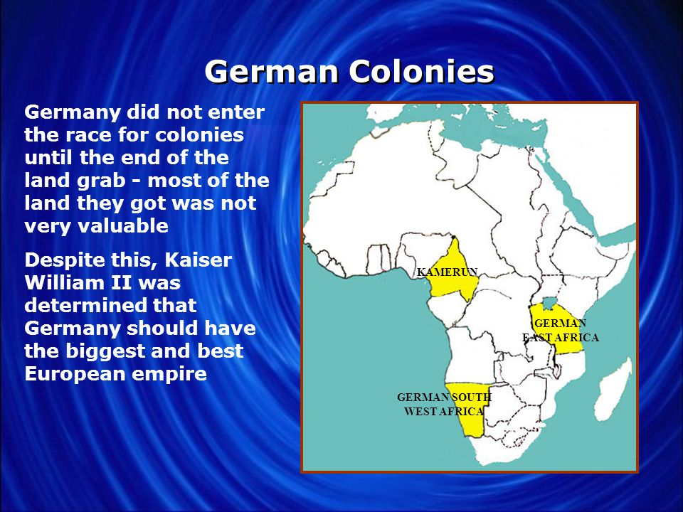 French Colonies MADAGASCAR FRENCH WEST AFRICA ALGERIA MOROCCO TUNIS FRENCH EQUATORIAL AFRICA France built a large colonial empire, mostly in northwest