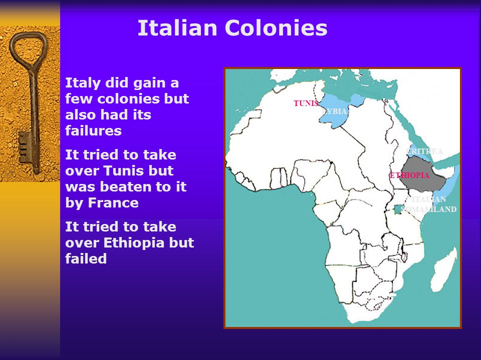 German Colonies KAMERUN GERMAN EAST AFRICA GERMAN SOUTH WEST AFRICA Germany did not enter the race for colonies until the end of the land grab - most