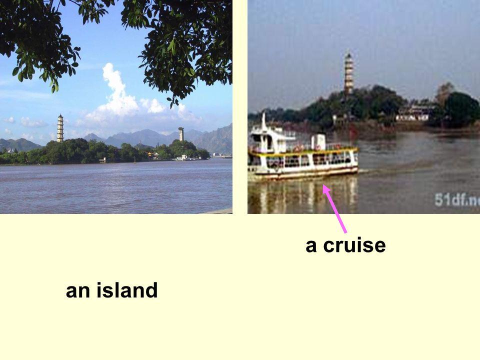 an island a cruise