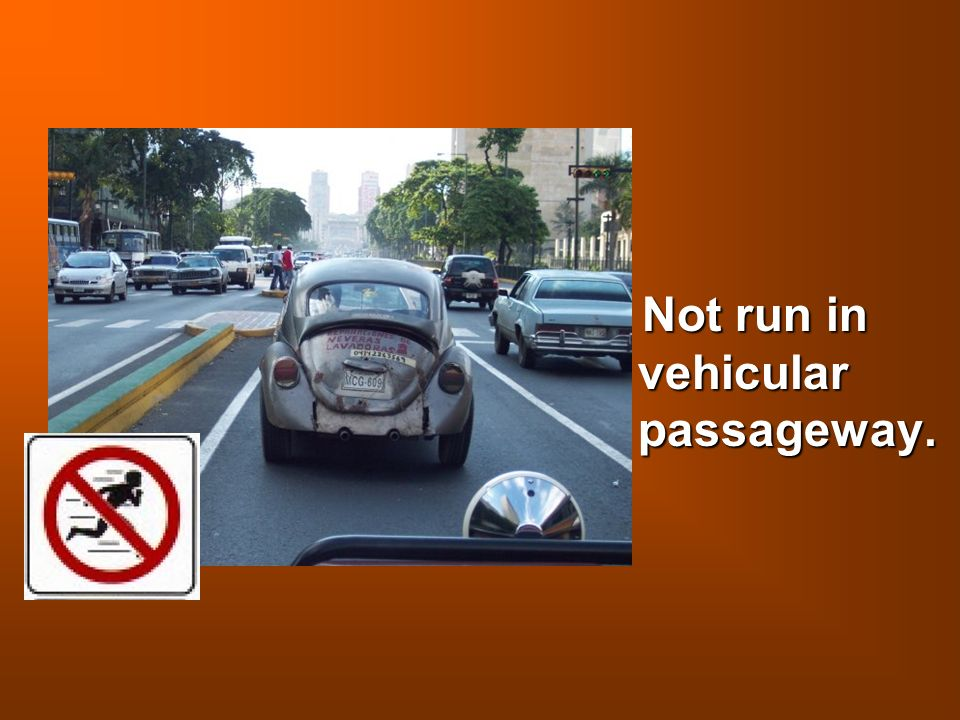 Not run in vehicular passageway. Not run in vehicular passageway.