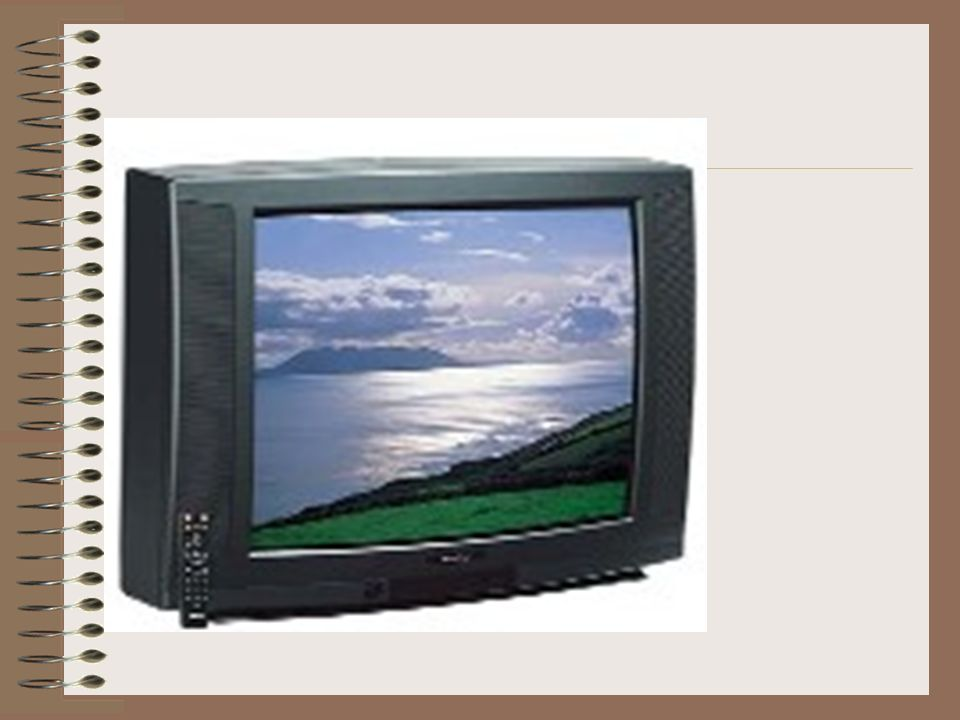 What are the parts of a TV?