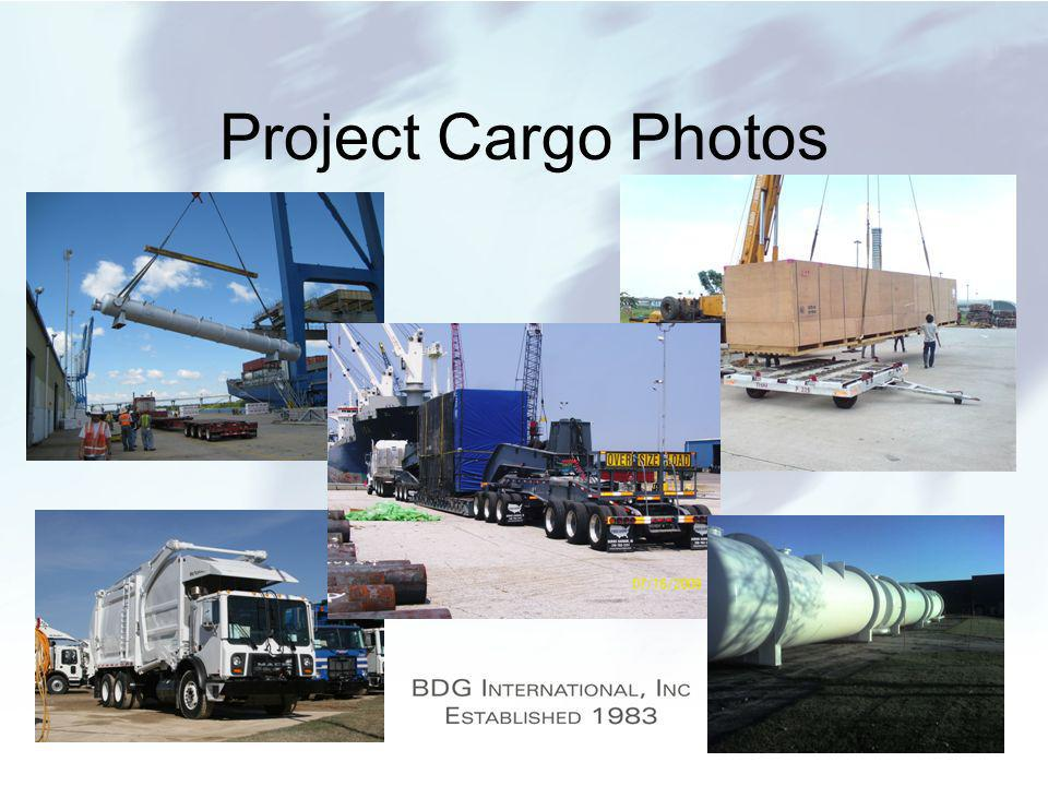 Project Cargo Photos