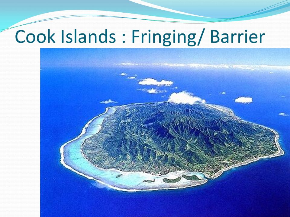 Cook Islands : Fringing/ Barrier