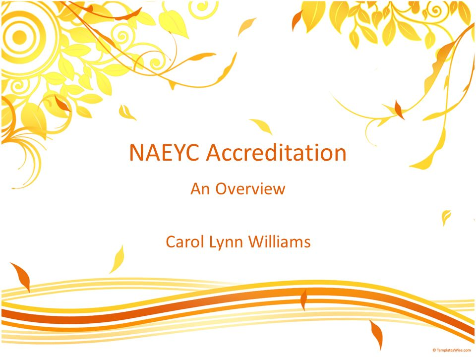 How will I know if an early childhood program is accredited.