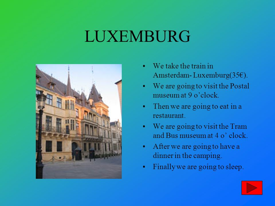 LUXEMBURG We take the train in Amsterdam- Luxemburg(35).