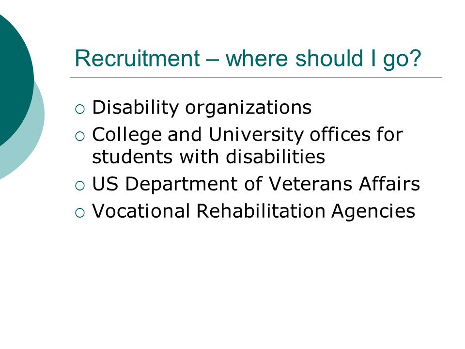 Recruitment – where should I go.