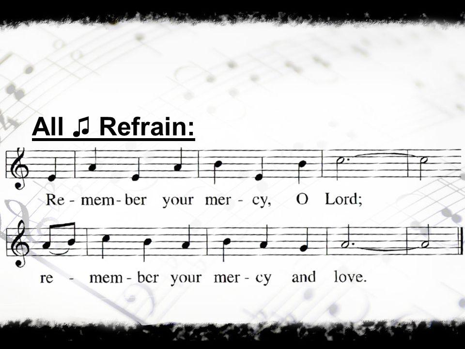 All Refrain: