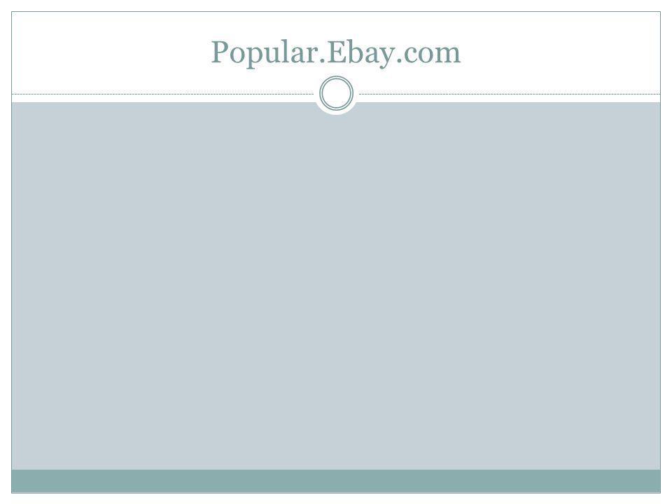 Popular.Ebay.com