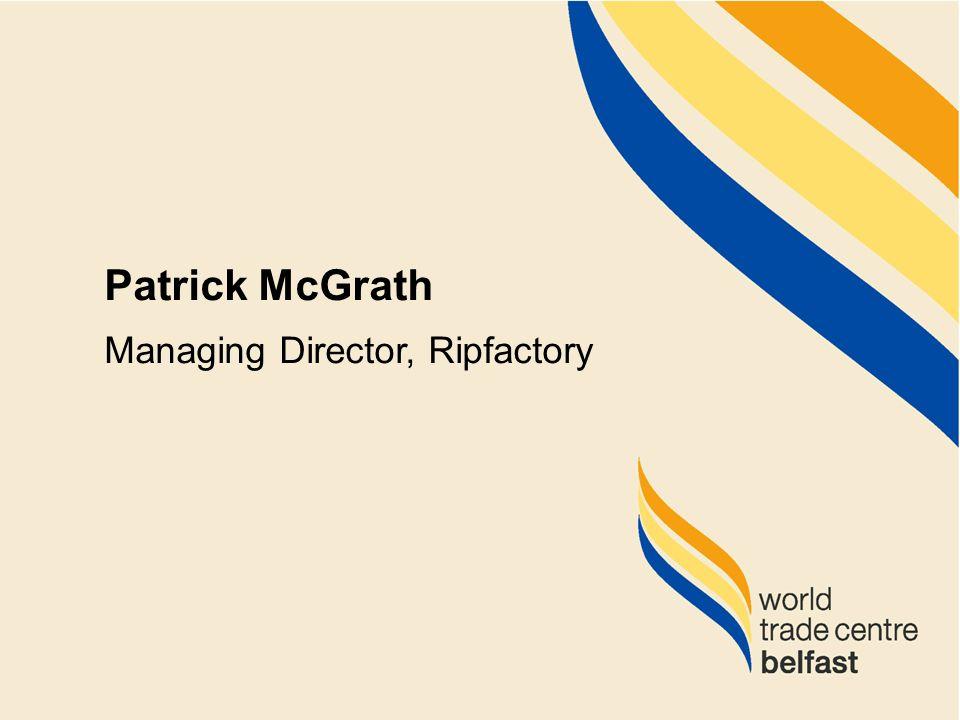 Ripfactory Patrick McGrath Managing Director