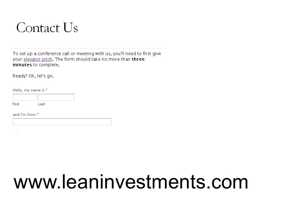 www.leaninvestments.com