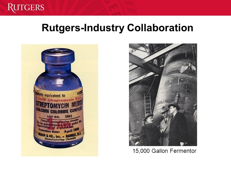 15,000 Gallon Fermentor Rutgers-Industry Collaboration