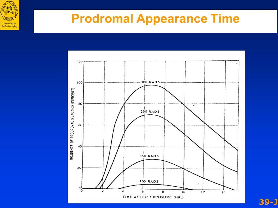 Prodromal Appearance Time 39-J