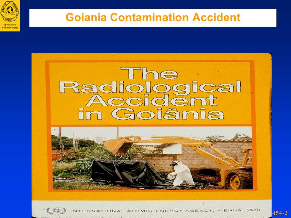 Goiania Contamination Accident 454-2