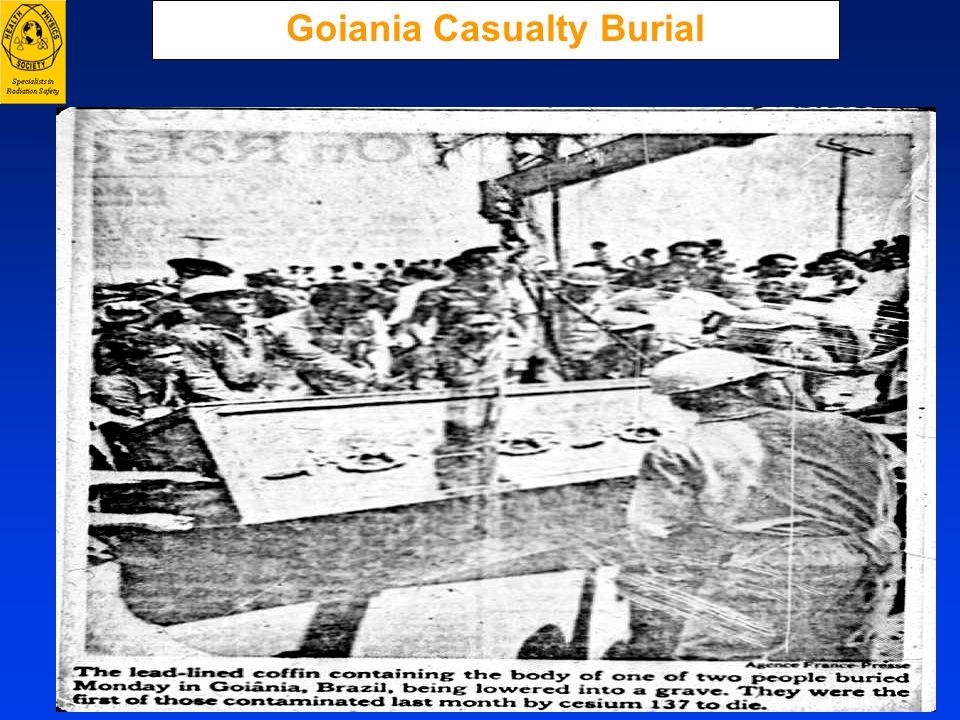 Goiania Casualty Burial