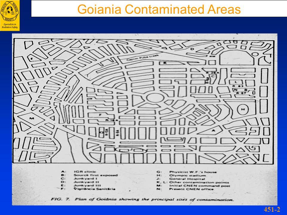 Goiania Contaminated Areas 451-2
