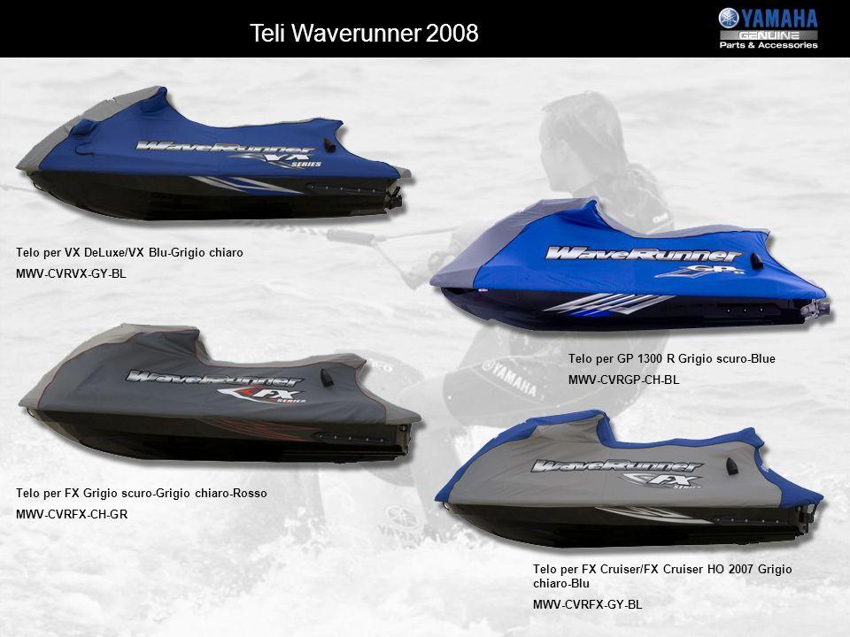 Telo per VX DeLuxe/VX Blu-Grigio chiaro MWV-CVRVX-GY-BL Telo per GP 1300 R Grigio scuro-Blue MWV-CVRGP-CH-BL Telo per FX Cruiser/FX Cruiser HO 2007 Gr
