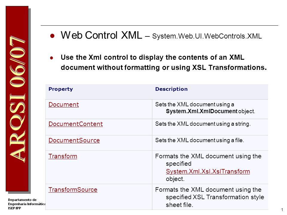 Programação com XML e XSLT