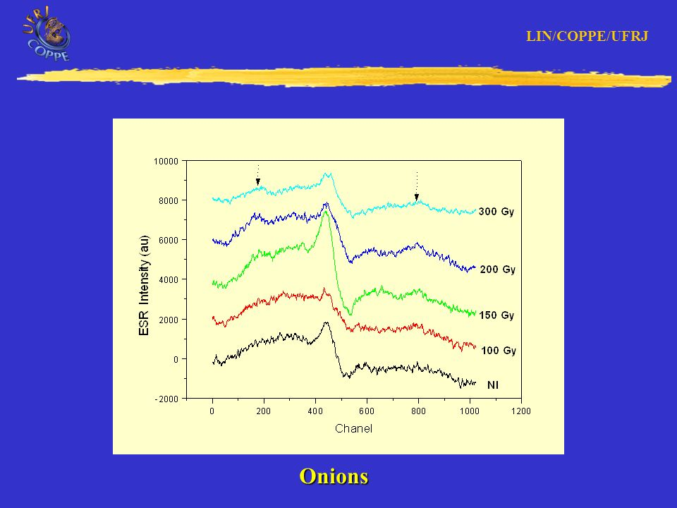 LIN/COPPE/UFRJ ESR Intensity Decay