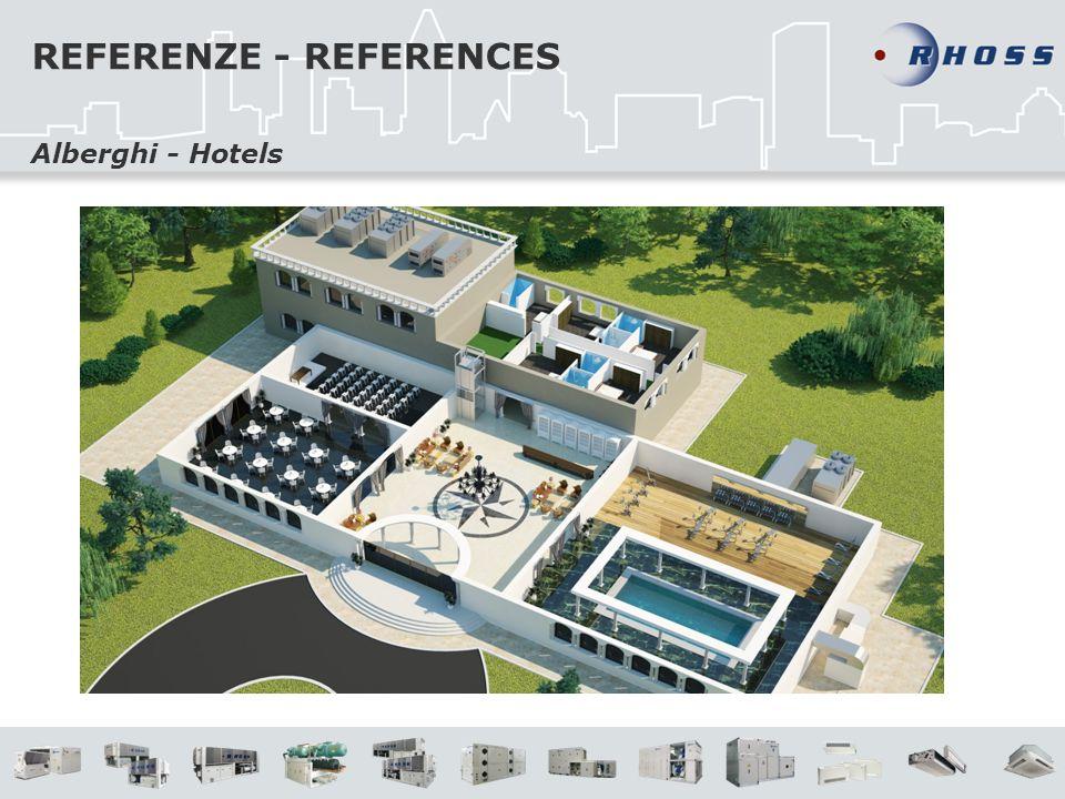 REFERENZE - REFERENCES Alberghi - Hotels