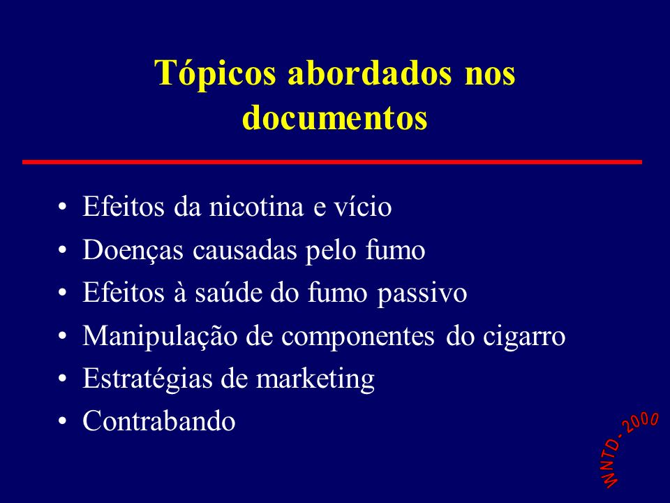 Souza Cruz Strategy Review 1991 (21 st February 1991) Brazils new Government has been very active in three fronts: Anti-Trust Legislation, Consumer Protection, and Anti-Smoking Actions.